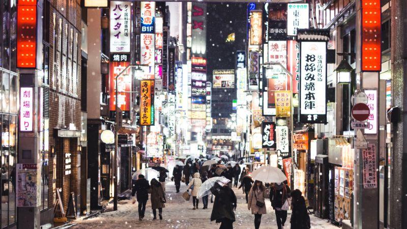 冬歌舞伎町日本街