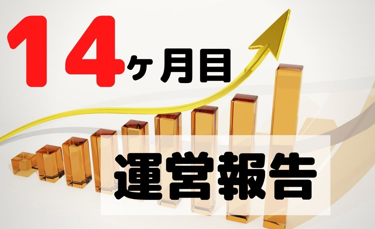 【ブログ運営報告】初めて月間1万PVを突破!収益はいかに…!【14ヶ月目】
