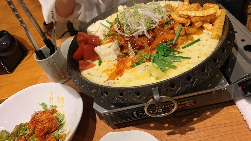 歯科衛生士の卵と韓国料理食べた