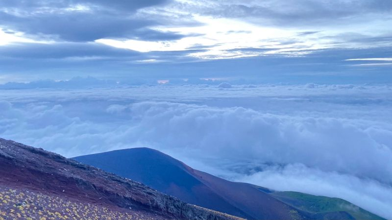 富士山早朝雲海